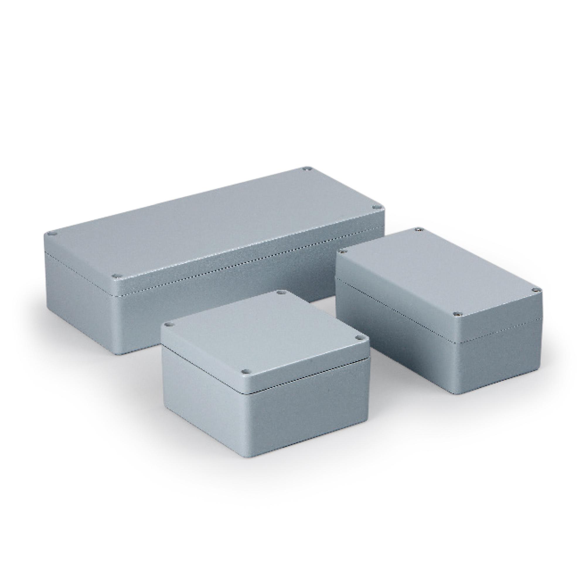 Aluminiumboc swibox, Leehrgehäuse