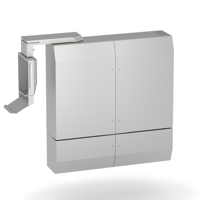 Massgeschneiderter Elektroschrank mit Tragarm