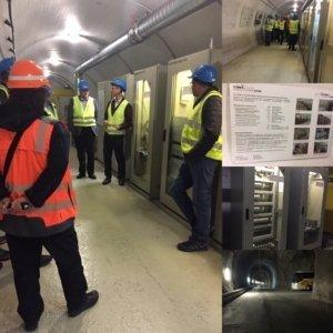 Swiss-Inox besuchte an der Generalversammlung den Lötschberg Basistunnel