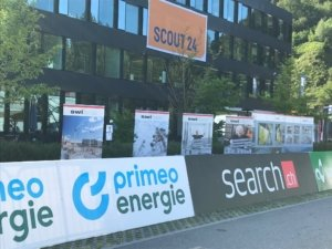 Swibox Präsentation am Start der Tour de Suisse