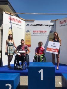Ranglistenverkündung Schweizer Meisterschaft Paracycling