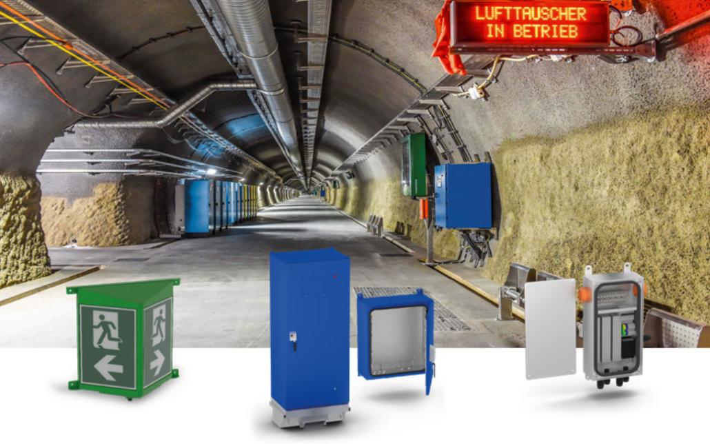 Produkte für Tunnelbau